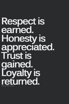 Relational Revelations – Loyalty andStuff